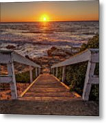 Steps To The Sun  Metal Print by Peter Tellone
