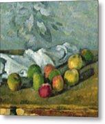 Still Life Metal Print by Paul Cezanne