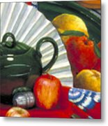 Still Life With Citrus Still Life Metal Print