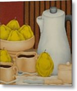 Still Life With Coffee Pot  2005 Metal Print