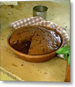 Still Life With Gingerbread Metal Print