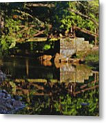 Still Water Reflections Metal Print