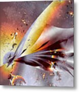 Stingray Metal Print
