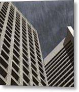 Stoic Buildings Metal Print