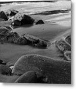 Stone Shore Metal Print