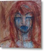 Stone Tears Metal Print