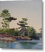 Stoney Lake Morning Metal Print