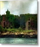Storm Clouds Over Old New York Metal Print