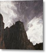 Storm In The Canyon Metal Print