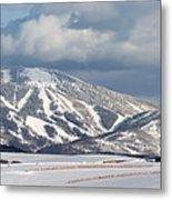 Storm Mountain Metal Print