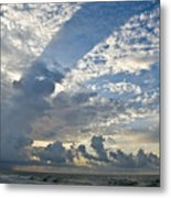 Storm On The Gulf Metal Print