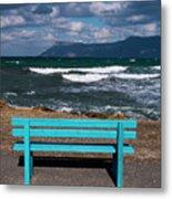 Stormy Aegean Sea Metal Print