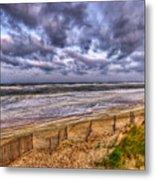Stormy Dunes Metal Print