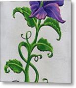 Strangler Hibiscus Metal Print