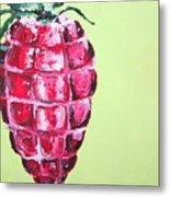 Strawberry Grenade Metal Print
