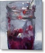 Strawberry Jam Metal Print