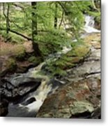 Stream In The Irish Countryside Metal Print
