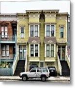 Streets Of San Francisco Metal Print