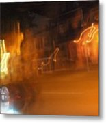 Streets On Fire Metal Print