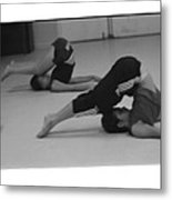 Stretch Bend And Roll Metal Print