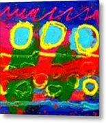 Sub Aqua IIi - Triptych Metal Print