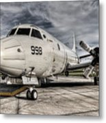 Submarine Hunter Metal Print by Ryan Wyckoff