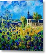 Summer In Foy Notre Dame  Metal Print