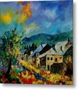 Summer In Mogimont Metal Print