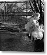 Summer Leap Metal Print
