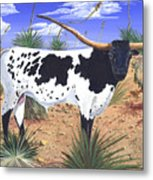 Summer On The High Mesa Metal Print