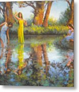 Summer Romantism. Metal Print