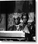 Sun Ra Arkestra At The Red Garter 1970 Nyc 8 Metal Print