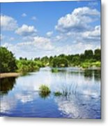 Sunday River  Metal Print