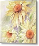 Sunflower Dreams Metal Print by Bobbi Price