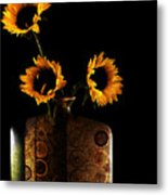 Sunflower Galore Metal Print