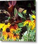 Sunflowerland Metal Print