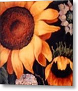 Sunflowers And More Sunflowers Metal Print