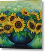 Sunflowers No 1. Metal Print
