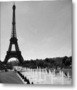 Sunny Day In Paris Metal Print by Kamil Swiatek