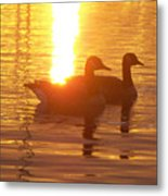 Sunrise 10 5 2009 008a Metal Print