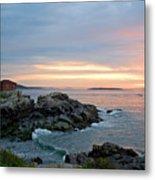 Sunrise At Portland Head Lighthouse Metal Print