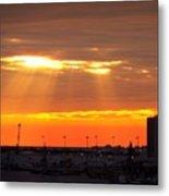 Sunrise Cape Canaveral Florida Metal Print
