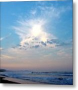 Sunrise In  Costa Rica Metal Print