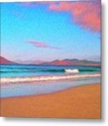 Sunrise On Sea Of Cortez Metal Print