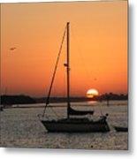 Sunrise On The Bay Metal Print