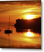 Sunrise On The Cove Metal Print