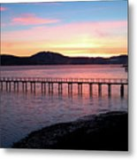 Sunrise Over Tomales Bay Metal Print