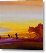 Sunset 07 Metal Print