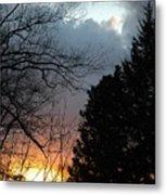 Sunset Display Metal Print