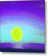 Sunset Heavens Metal Print